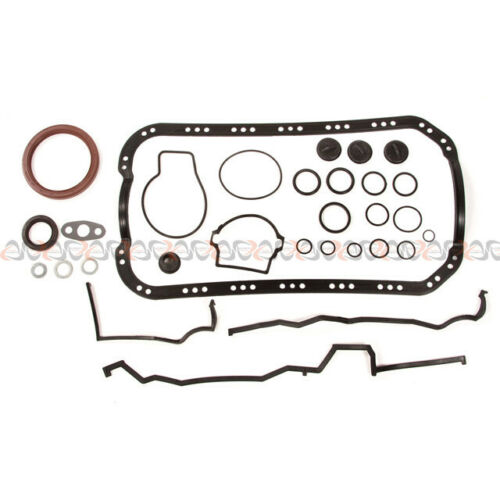 Fits 88-89 Acura Integra 1.6 Full Gasket P29 Raised Dome Piston Bearing Ring Set