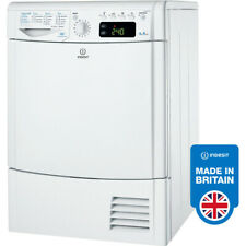 Indesit IDCE8450BH 8kg Condenser Tumble Dryer - White