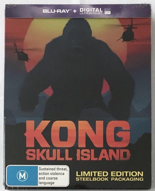 Kong: Skull Island Steelbook - Australian Exclusive Limited Edition Blu-Ray