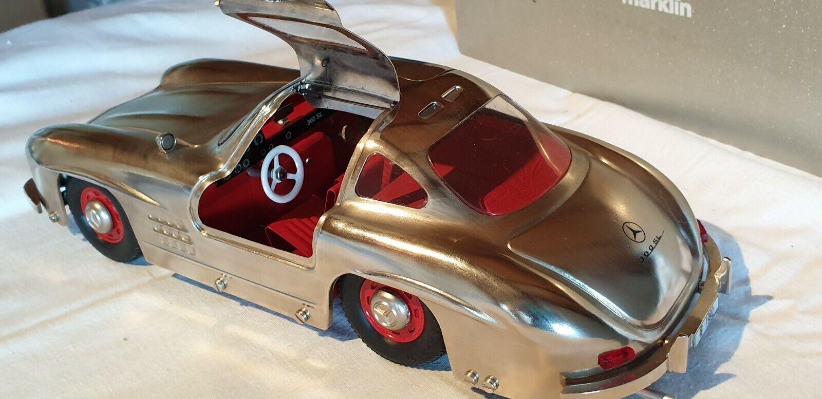 Märklin metall Mercedes 300 SL,hochglanz,Jubil-modell nr.1952  aus aus aus 1992 neu, OVP  | Klein und fein  3b671d
