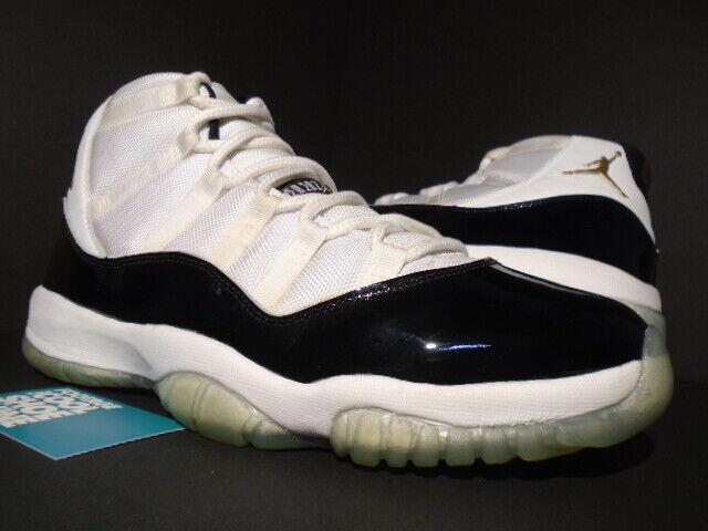 b798153417 NIKE AIR JORDAN 11 RETRO DMP DEFINING MOMENTS WHITE gold CONCORD 10.5 XI  BLACK nzvgkh1734-Athletic Shoes