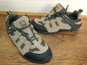 Karrimor-Summit-80-beige-khaki-suede-lace-up-shoes-trainers-uk-6-eur-39-5-VGC