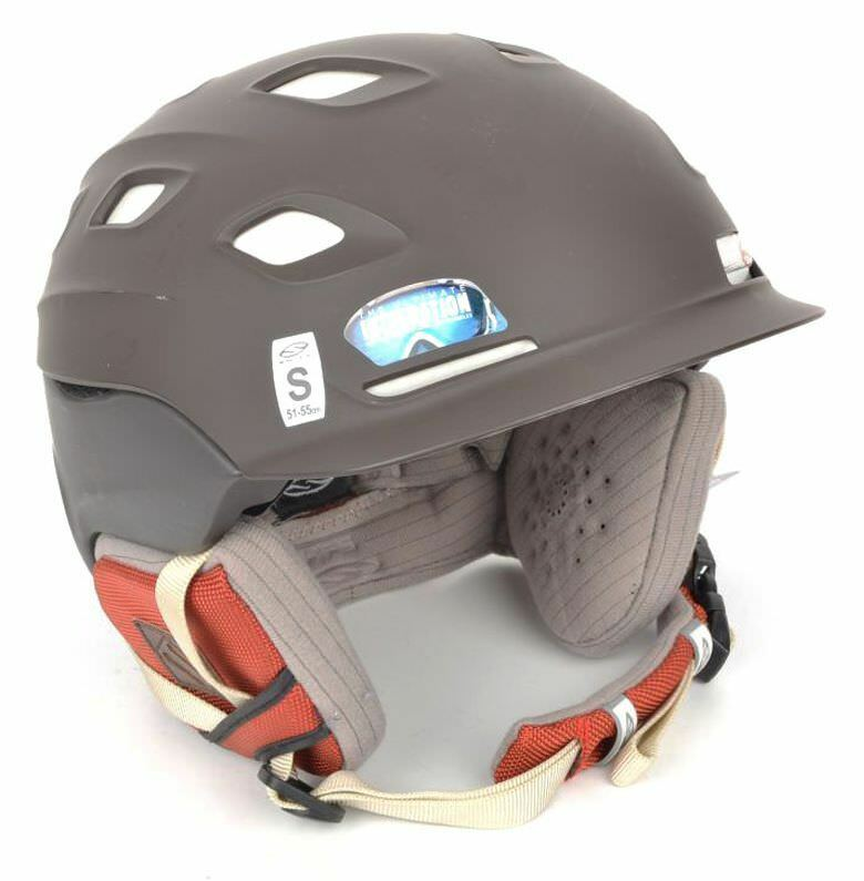 SMITH VANTAGE Ski Snowboard Snow Helmet Chocolate H01-VACESM - SMALL (51-55 cm)