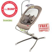 Skip Hop Baby Uplift Multi-level Adjustable Bouncer, Grey