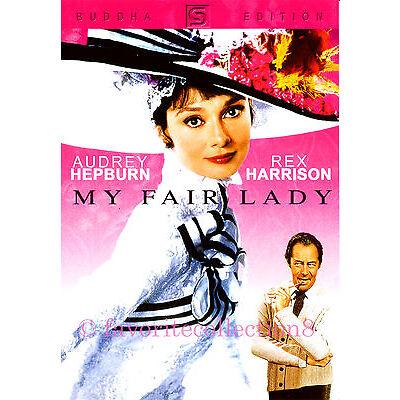 My Fair Lady (1964) - Audrey Hepburn, Rex Harrison - DVD NEW