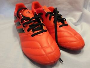 4852acdeb903 Adidas New Size 8 Ace 17.4 Indoor - Men s Soccer Shoes Orange Solar ...