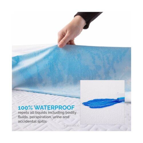 Premium Hypoallergenic 100/% Waterproof Mattress Protector Twin