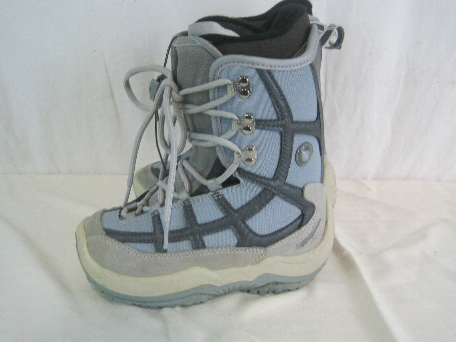 NORTHWAVE WOMENS SNOWBOARD BOOTS Size USM3.5 bluee Grey (HKY50-235)