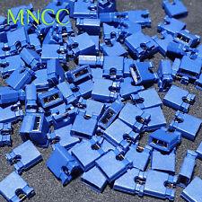 10~200pcs 2.54mm Jumper Cap Pin Header Links Circuit Board Shunts Red Blue Green