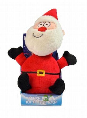Labertier Laber Weihnachtsmann Sprechender Chatter-Santa der nachplappert Neu