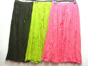 Broom Skirt 3 Colors to choose From 100% cotton Ren Faire Theater Summer skirt