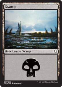 Magic-the-Gathering-20-FOIL-SWAMP-mtg-NM-basic-land-cards-mixed-mana