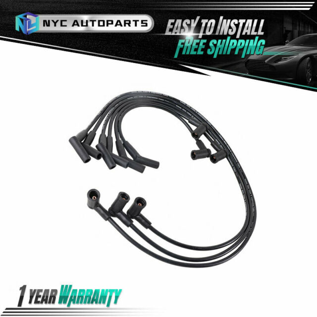 Spark Plug Ignition Wire 7mm For 2007 2008 Ford F