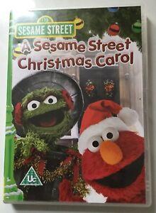 A Sesame Street Christmas Carol.Details About A Sesame Street Christmas Carol Dvd Christmas Gift Stocking Filler