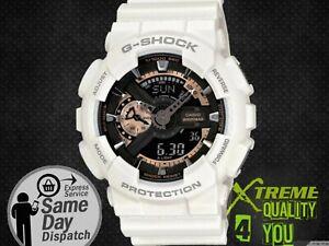 Casio-G-Shock-Watch-White-Gold-GA-110RG-7AER-Auto-Led