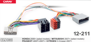 ISO-T-Kabel-Adapter-passend-fuer-Honda-Civic-CR-V-Accord-Fit-FR-V-fuer-Parrot-THB