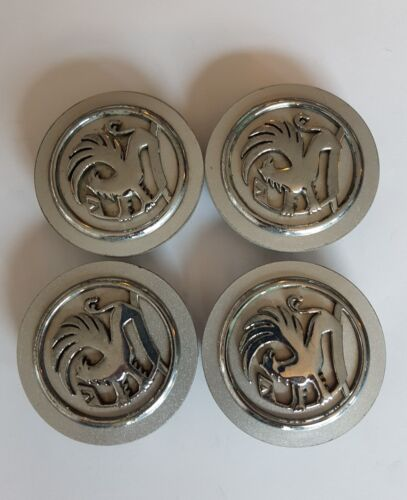 4 GENUINE VAUXHALL CENTRE CAPS FOR 14 15,16 inch ALLOY WHEELS