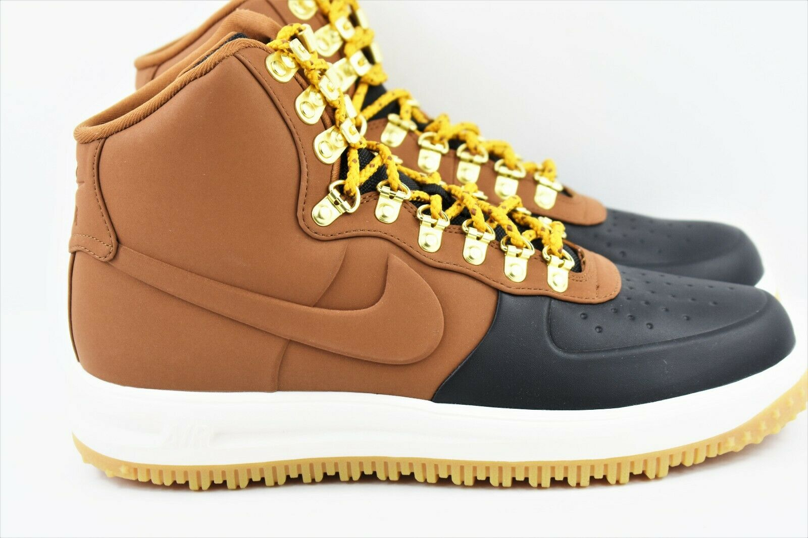 Nike Lunar Force 1 Duckboot High Mens Size 11 shoes LF1 BQ7930 001 Brown Black