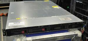 HP DL320 G6 Intel X5672 3.2Ghz Quad Core XEON 16GB RAM P212 2x 250GB SATA HD 2PS