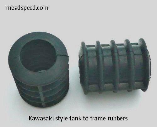 Kawasaki Frame rubber TZ350 92075-084 Z900 Norton Triton Tank Rubber BSA