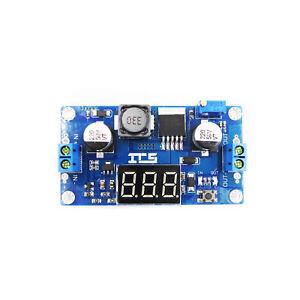 5PCS XL6009 DC 4.5-32V to 5-52V Boost Step up Power Supply Module+LED Voltmeter