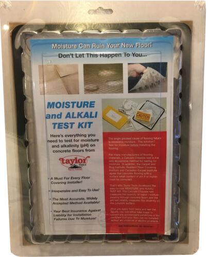 Taylor Concrete Floor Testing System-Calcium Chloride Moisture Testing Kit #625