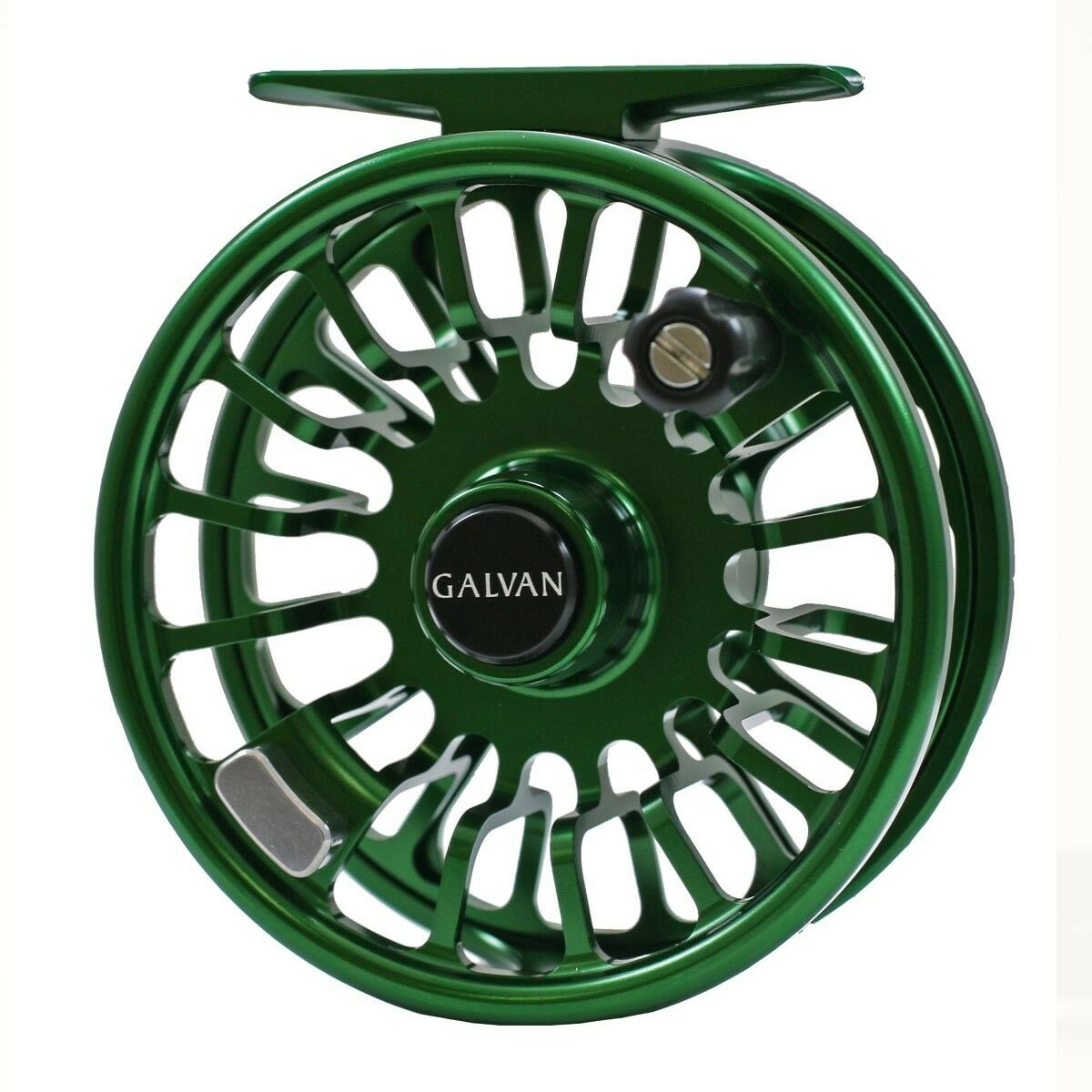 Galvan Torque T-12 Fly Reel - Green - NEW - FREE FLY LINE