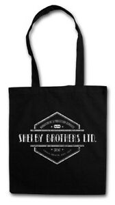 SHELBY BROTHERS LTD. STOFFTASCHE Peaky Gang Firma Company Blinders Sign Logo