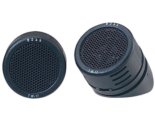 """Boss TW17 1/"""" Surface//Angle Mount Micro-Dome Car Audio Tweeters Pair"""