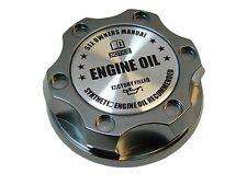 GUNMETAL SYNTHETIC BILLET RACING ENGINE OIL FILLER CAP FOR 05-12 FORD MUSTANG SL