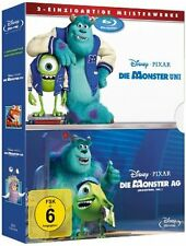 Disney Blu-ray ++ Die Monster AG & Die Monster Uni ++ NEU & OVP