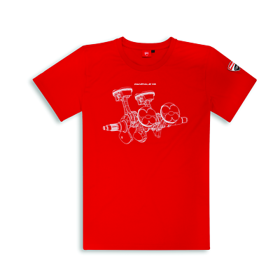 Ducati Scrambler the Racer Cafe Racer short Sleeve T-Shirt Black New 2018