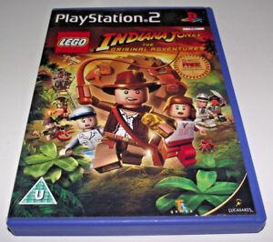 Lego-Indiana-Jones-The-Original-Adventures-PS2-PAL-Complete