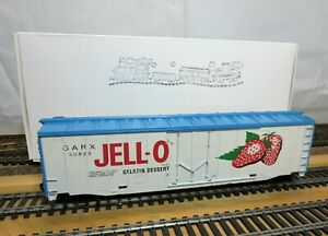 TYCO-365-A-HO-Scale-50-039-Plug-Door-Billboard-Boxcar-034-JELL-O-GARX-034-with-KD-039-s