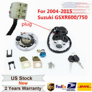 Ignition-Switch-Fuel-Gas-Cap-Seat-Lock-Key-Replace-for-Suzuki-GSXR600-750-04-15