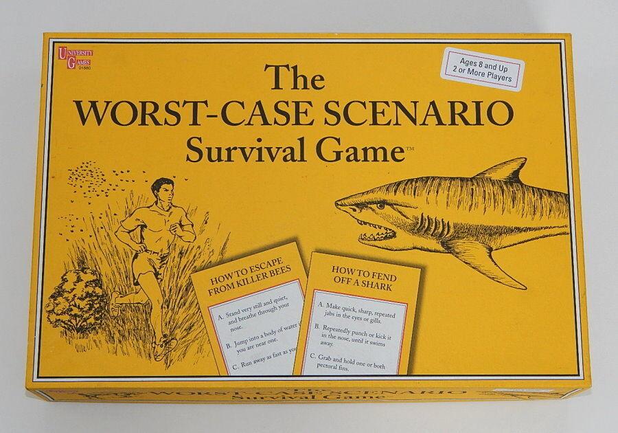 Worst-Case Scenario Survival Game, University Games 2001