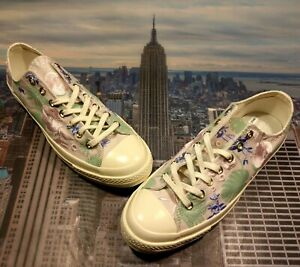 7bdd23f1190e Converse Chuck 70 Ox Low Top Palm Print Barely Rose Jaded-Egret Size ...