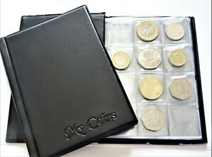 Collectors-Storage-Book-Coin-Album-for-96-Coins-50p-old-50p-2-1-Folder