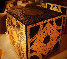 Lament Configuration puzzle box, Hellraiser Movie Prop Replica w/stand