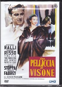 Dvd UNA PELLICCIA DI VISONE con Giovanna Ralli Tina Pica nuovo 1956