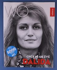 DALIDA   great mag.FRONT cover Poland WYSOKIE OBCASY