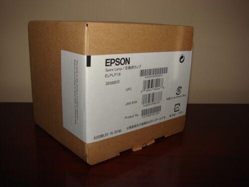 NEW GENUINE OEM EPSON ELPLP18 Projector Lamp-bulb for PowerLite 720c 735c 730c