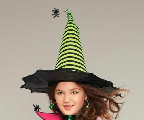 Details about  /NWT 6//8 CHASING FIREFLIES PRINCESS PARADISE SPIDERINA WITCH//HAT /& BROOM COSTUME