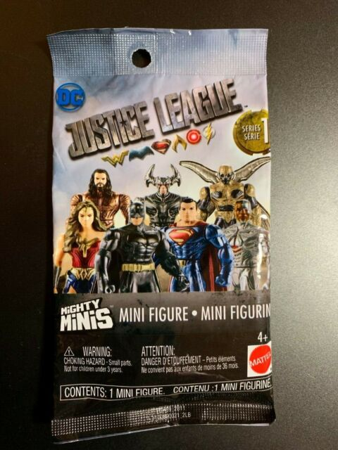 9x Mattel Mighty Minis Justice League Movie Series 1 Blind Bag DC Comics for sale online
