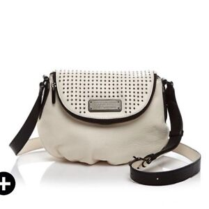 4fa3905c88cf NWT MARC BY MARC JACOBS New Q Perforated Mini Natasha Crossbody Bag ...