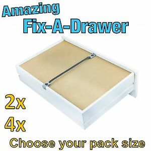 Repair A Drawer Fix A Sagging Set Of Drawers In Minutes