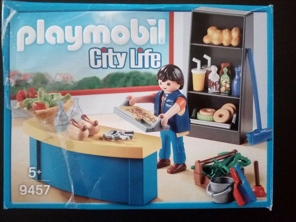 Playmobil, Playmobil 9457-City Life Købmand, City Life