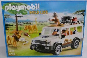 Safari Geländewagen mit Seilwinde Wie neu. Playmobil 6798