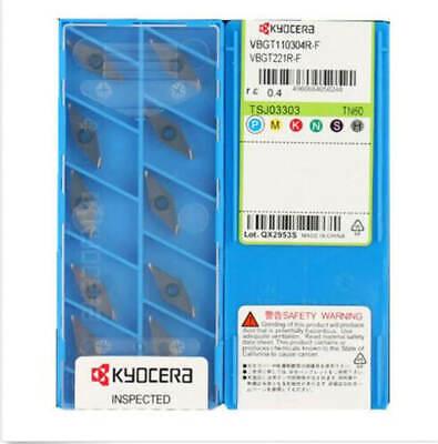 Kyocera TPGH110304L TPGH221L PR930 CNC Carbide Insert 10pcs New