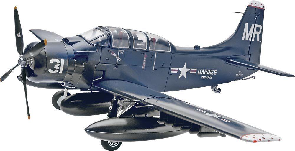 2013 85-5327 Revell 1 48 Skyraider AD-5 (A-1E) Plastic Model Kit new